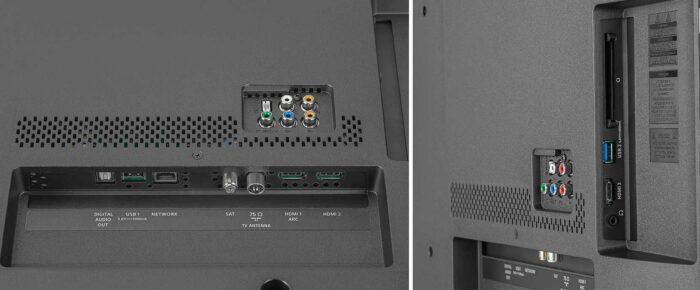 Philips 50PUS6754 интерфейсы