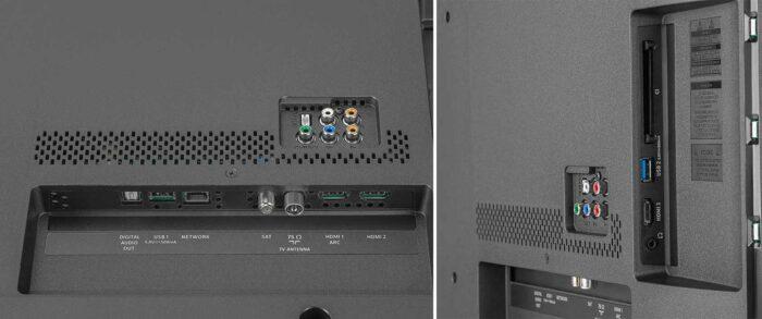 Philips 50PUS6654 интерфейсы