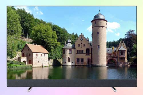 Philips 50PUS8804 UHD TV с сабвуфером от B & W