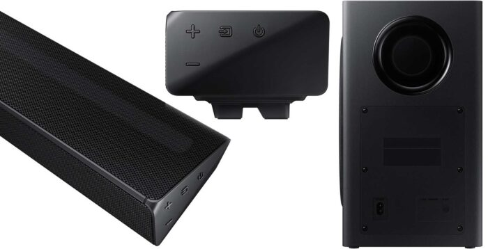Samsung HW-Q60R дизайн