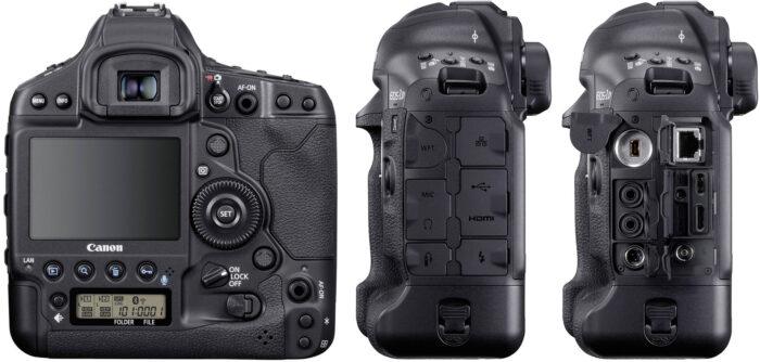 Canon EOS-1D X Mark III интерфейсы