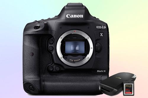 Canon EOS-1D X Mark III - фотоаппарат 5.5К