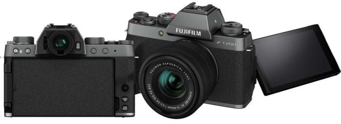 Fujifilm X-T200 дисплей