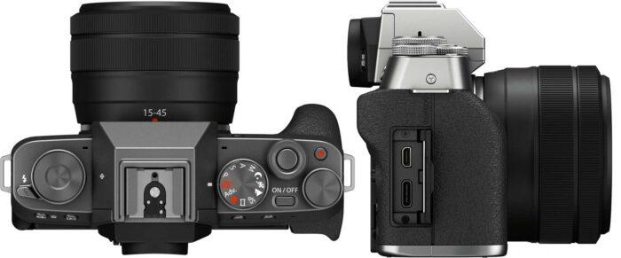 Fujifilm X-T200 интерфейсы