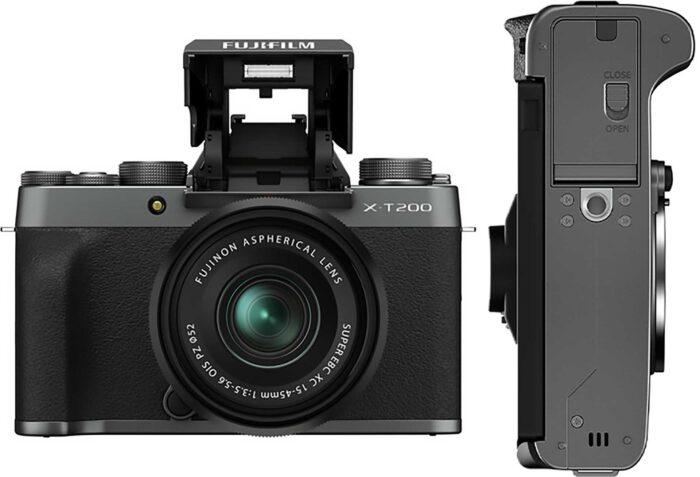 Fujifilm X-T200 обзор