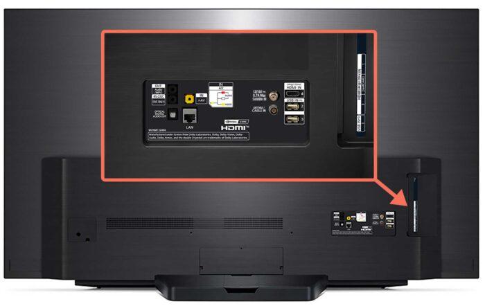 LG OLED65CX интерфейсы