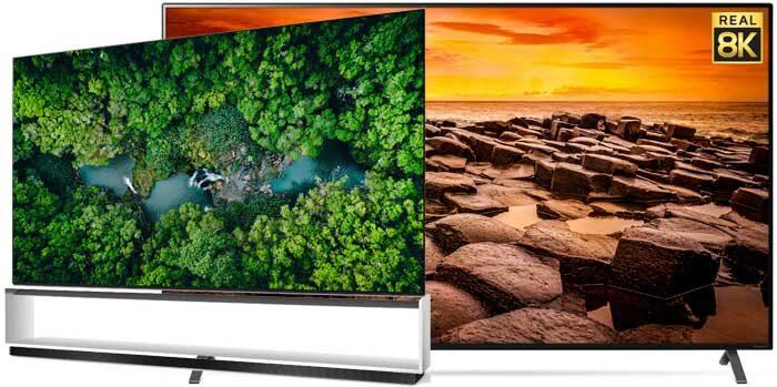 Телевизоры LG 8K 2020 года