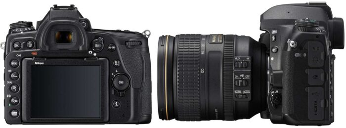 Nikon D780 интерфейсы