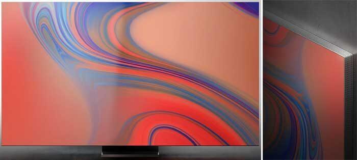 Samsung Q950TS боковая панель и звук