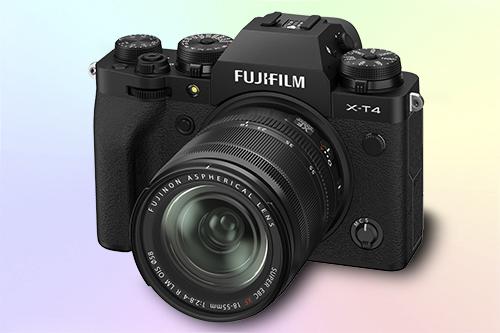 Fujifilm X-T4 беззеркальный фотоаппарат со встроенной стабилизацией
