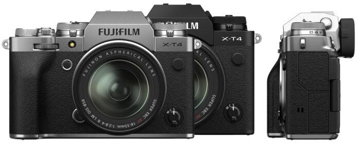 Fujifilm X-T4 - фронт