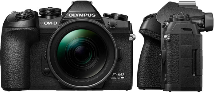 Olympus-E-M1III - передняя панель