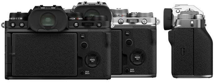 Fujifilm X-T4 - зад