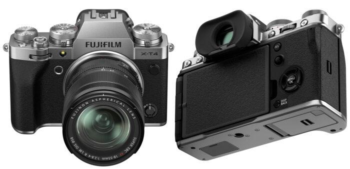 Fujifilm X-T4 - ракурс