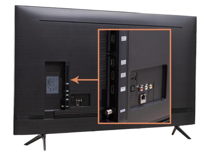 Samsung UE55TU8000 - интерфейсы
