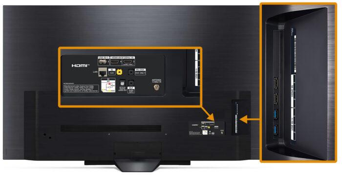 LG OLED65BX - интерфейс