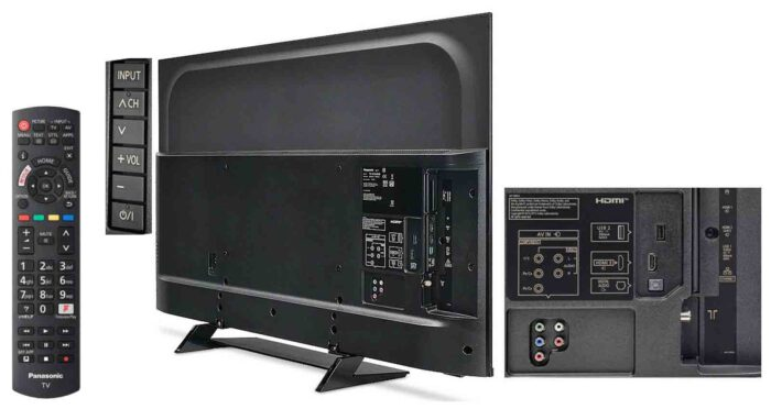 Panasonic TX-50HXR800 интерфейсы