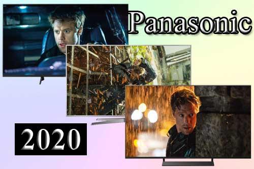 Модельный ряд телевизоров Panasonic 2020 года