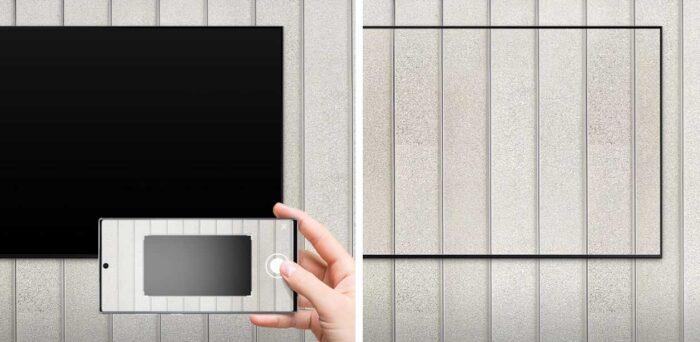 Samsung QE55Q80T фотообои