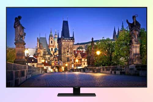 Samsung QE55Q80TAU среднего класса 4K QLED