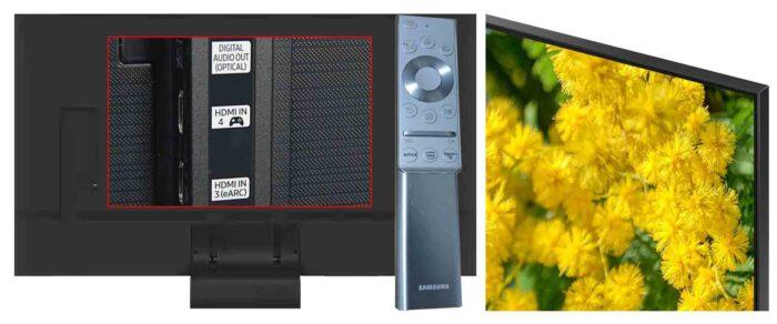 Samsung QE65Q90T интерфейсы
