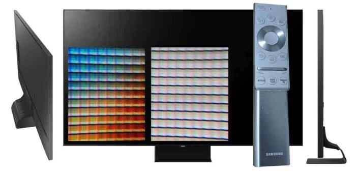 Samsung QE65Q90T пульт матрица