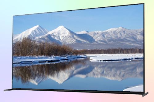 Sony KD-75ZH8 телевизор 8K со звучащей рамкой