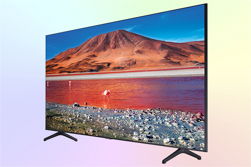 Samsung UE55TU7170UXRU 4K телевизор бюджетного сегмента