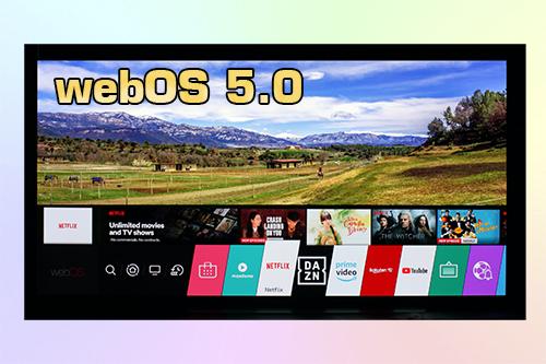 webOS 5.0 и её отличия от webOS 4.5