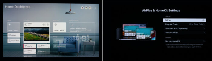 webOS 5.0 - домашний экран