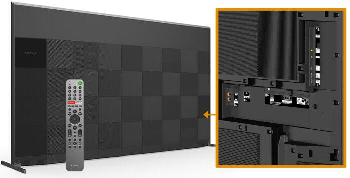 Sony ZH8 - интерфейс