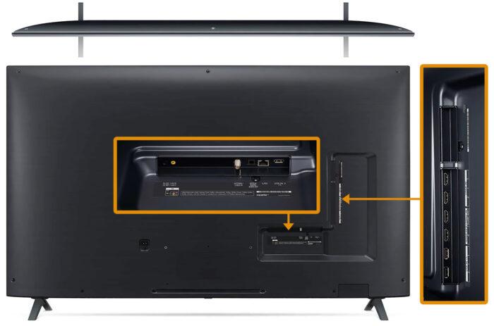 LG 65NANO90 - интерфейс