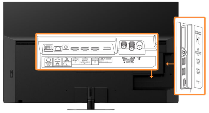 Panasonic 55HZR1000 - интерфейс