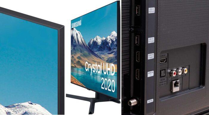 Samsung UE65TU8500 интерфейсы