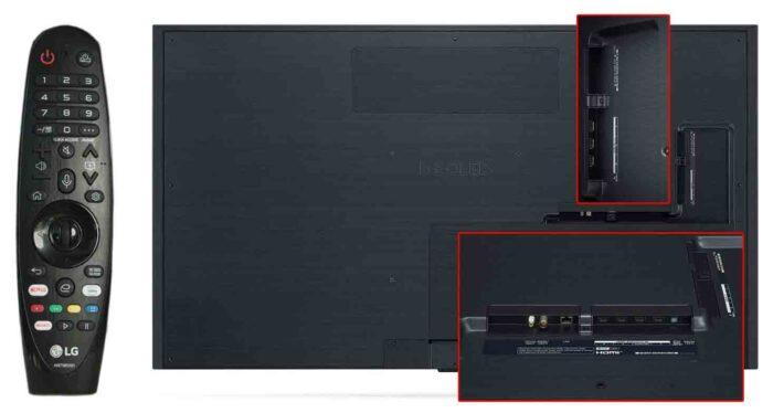 LG OLED55GX интерфейсы