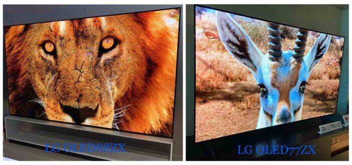 LG OLED77ZX и LG OLED88ZX отличия