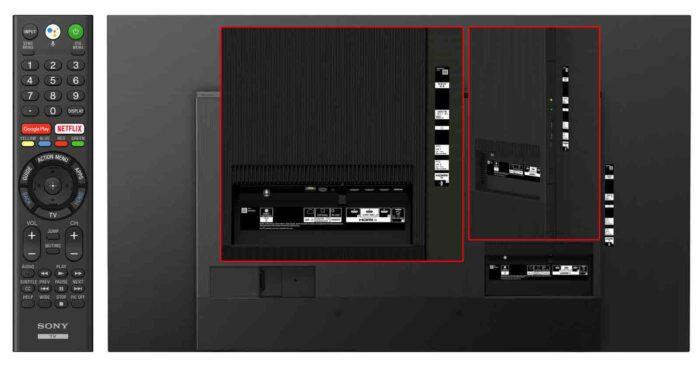 Sony KD-55A8 интерфейсы