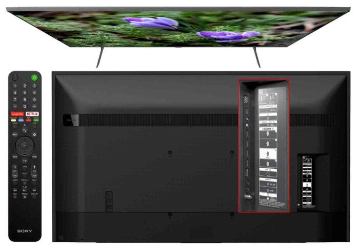 Sony KD-43XH8005 интерфейсы