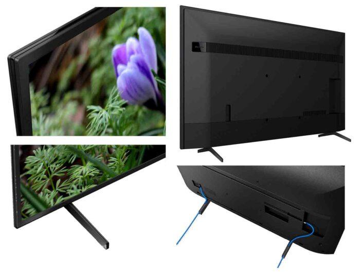 Sony KD-43XH8005 вид