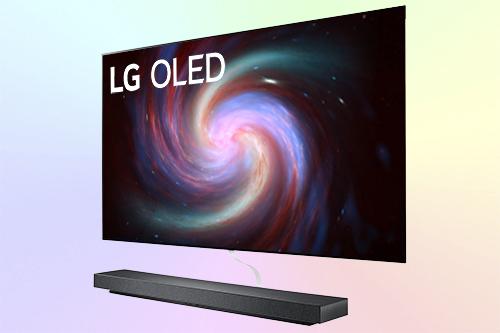 LG OLED65WX9LA телевизор обои OLED 4K 2020 года