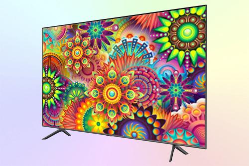 Samsung QE50Q67TU 4K HDR телевизор с двойной подсветкой