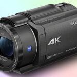 Sony FDR-AX43 4K видеокамера 2020 года