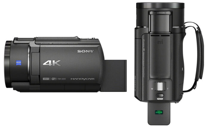 Sony AX43 - обзор