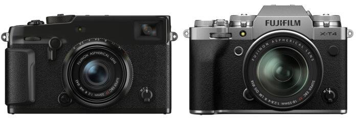 X-Pro3 vs X-T4 - дизайн