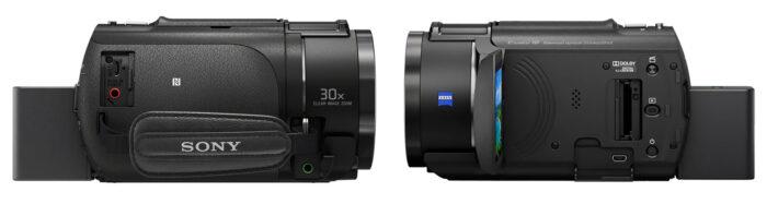 Sony AX43 - интерфейс