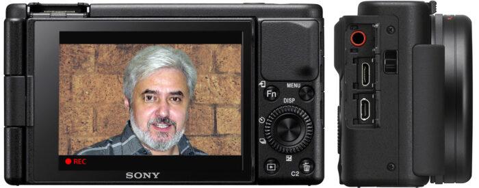 Sony ZV-1 - интерфейс