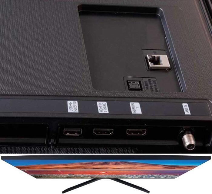 Samsung UE50TU7560U интерфейсы