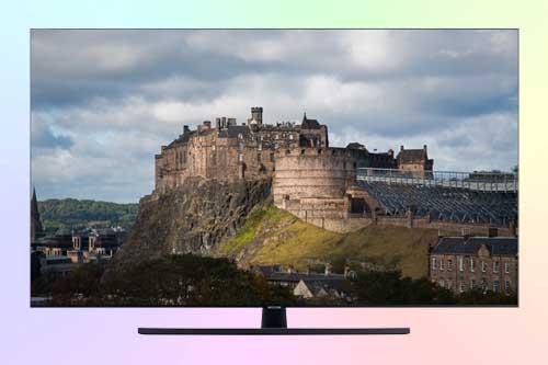 Samsung UE50TU7560U 4K TV из бюджетной серии TU75
