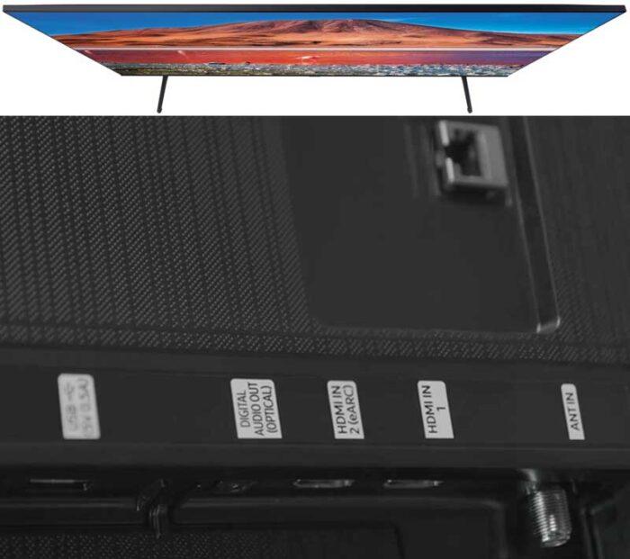 Samsung UE55TU7140 интерфейсы