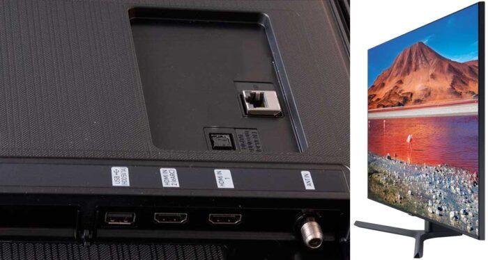 Samsung UE55TU7500U интерфейс